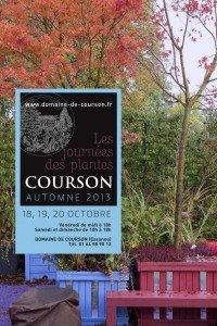 JOURNEES DES PLANTES DE COURSON > édition automne 2013 les 18, 19 et 20 octobre 2013 dans d. visiter jardins, salons & expositions affiche-courson-a2013_1-200x300