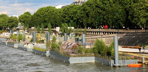 Botablog archives du blog les jardins flottants de l for Le jardin hivernal du off paris seine