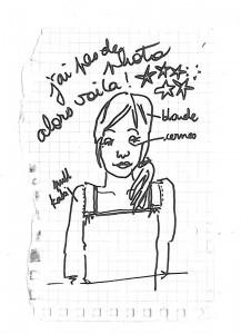dessin d'identité de Sari