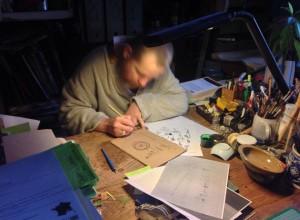 Mon kiff : dessiner le matin, avant d'aller au bureau !