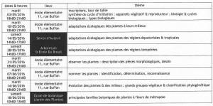 programme Botanique Approfondissement 2016 validé