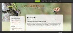 page d'accueil de CETTIA Île-de-France